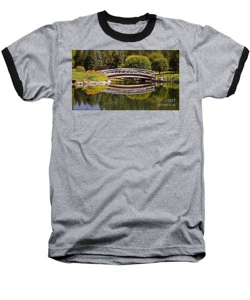 Garden Bridge Baseball T-Shirt