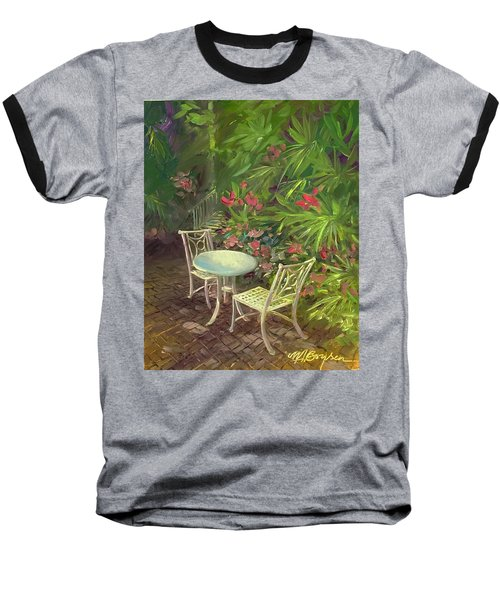 Garden Conversation Baseball T-Shirt