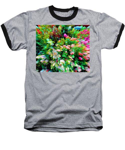 Garden Explosion Baseball T-Shirt