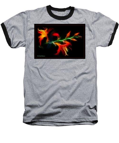 Garden Firecracker Baseball T-Shirt