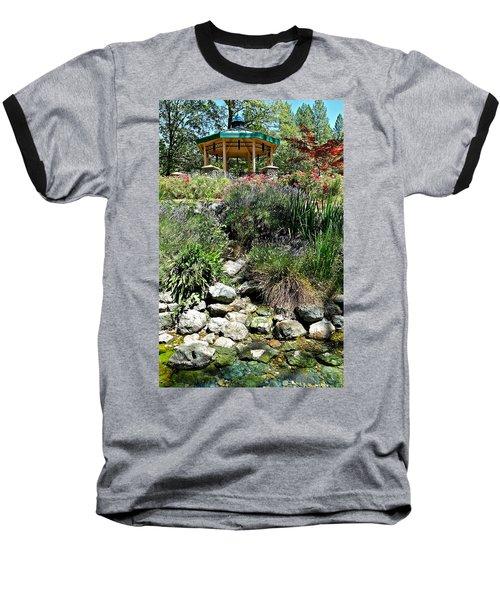 Garden Gazebo Baseball T-Shirt