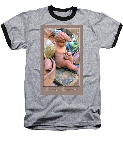 Baseball T-Shirt featuring the photograph My Garden Guardian  by Brooks Garten Hauschild