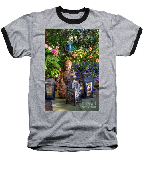 Garden Meditation Baseball T-Shirt