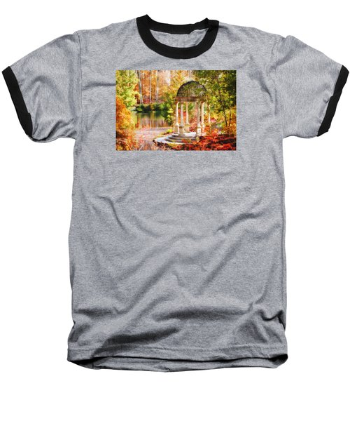 Baseball T-Shirt featuring the photograph Garden Of Beauty by Trina  Ansel