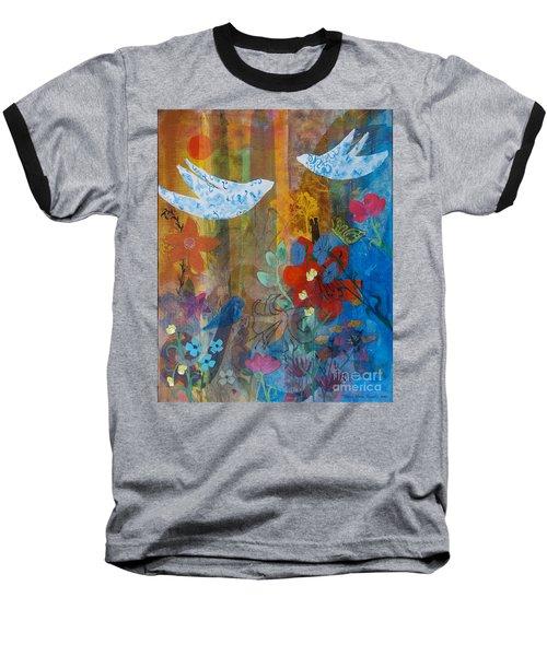 Garden Of Love Baseball T-Shirt