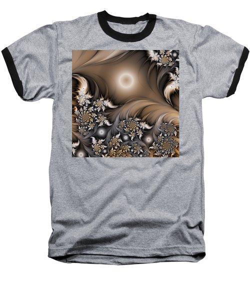 Baseball T-Shirt featuring the digital art Garden Of The Future by Gabiw Art