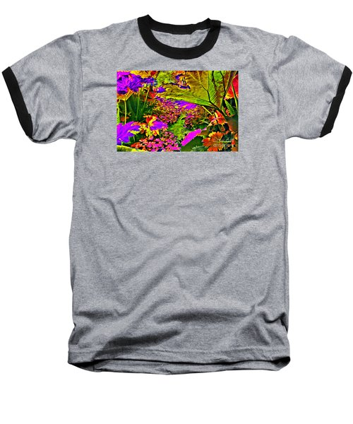 Garden Of Color Baseball T-Shirt