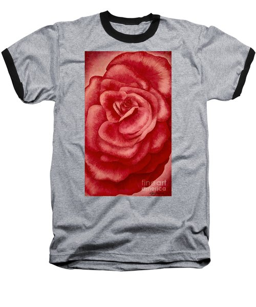Garden Rose Baseball T-Shirt