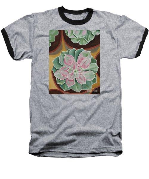 Garden Rossette Baseball T-Shirt
