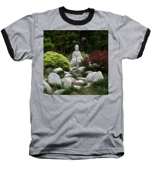 Garden Statue Baseball T-Shirt