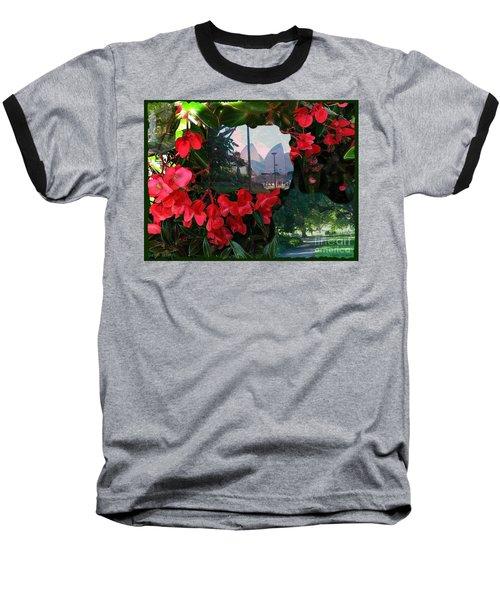 Garden Whispers Baseball T-Shirt