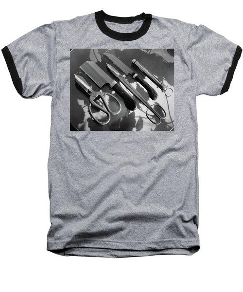 Gardening Tools Baseball T-Shirt