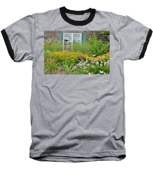 Gardens At The Good Earth Market Baseball T-Shirt