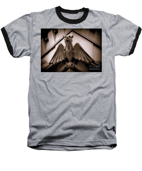 Gargoyle Baseball T-Shirt