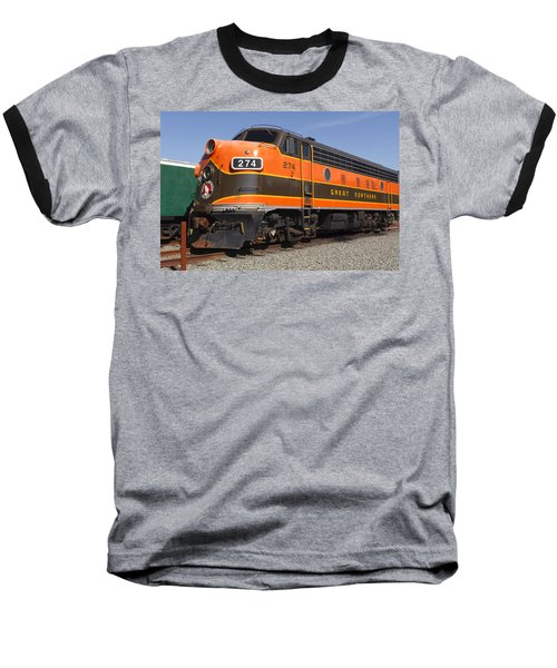 Garibaldi Locomotive Baseball T-Shirt by Wes and Dotty Weber