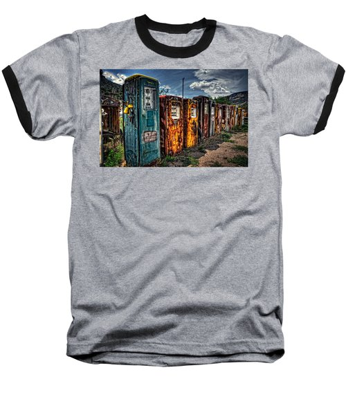 Baseball T-Shirt featuring the photograph Gasoline Alley by Ken Smith