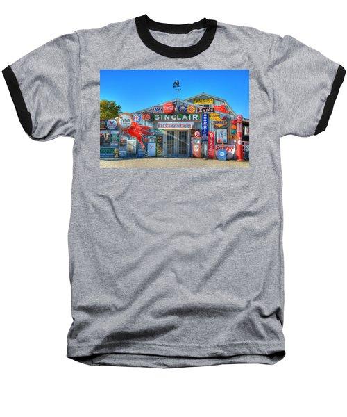 Gasoline Alley Baseball T-Shirt by Steve Stuller