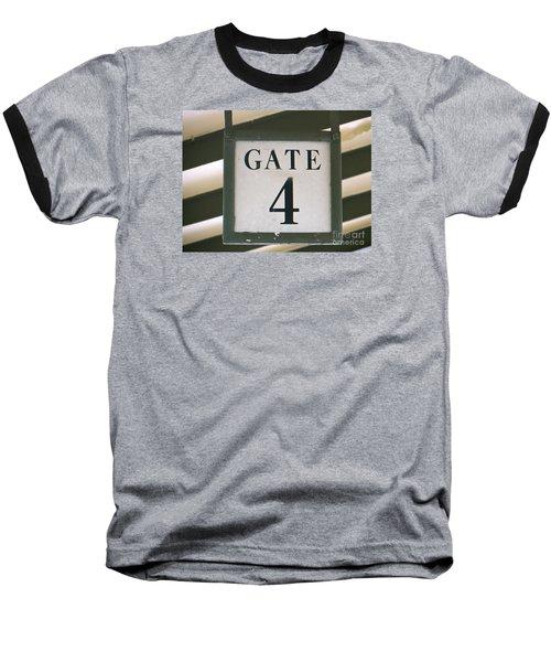 Baseball T-Shirt featuring the photograph Gate #4 by Joy Hardee