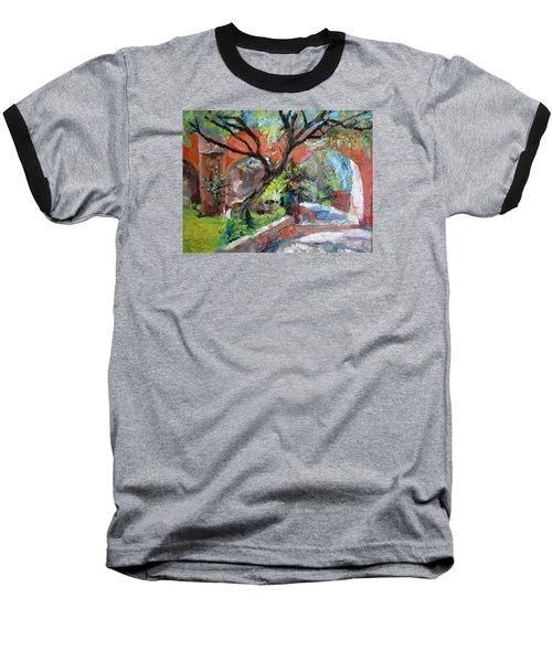 Gate Baseball T-Shirt by Jiemin g Wang
