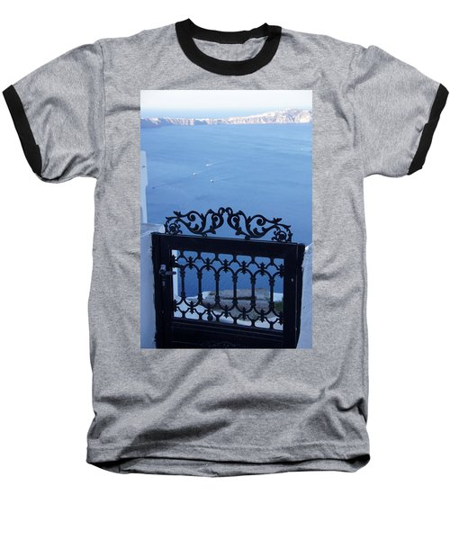 Gated Caldera Baseball T-Shirt