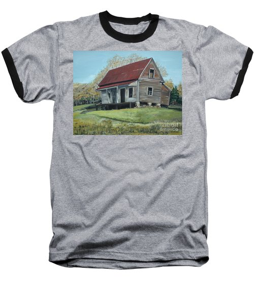 Gates Chapel - Ellijay Ga - Old Homestead Baseball T-Shirt