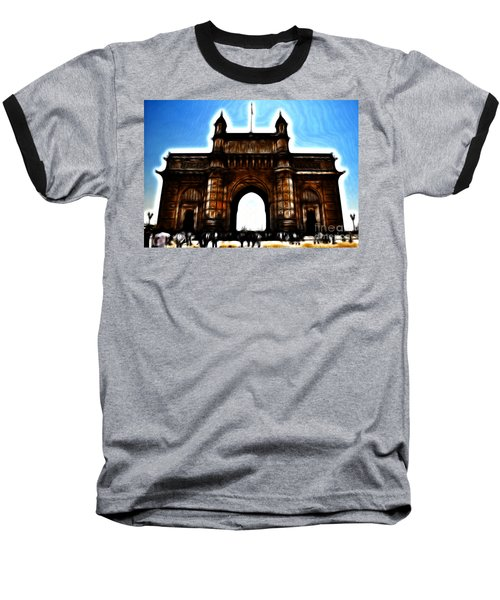 Gateway To Fractalius Baseball T-Shirt