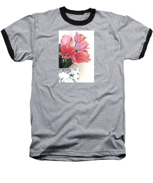Gathered Tulips Baseball T-Shirt