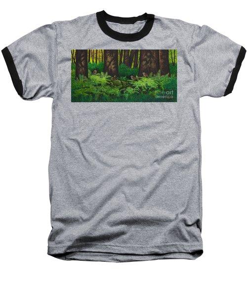 Gathering Among The Ferns Baseball T-Shirt