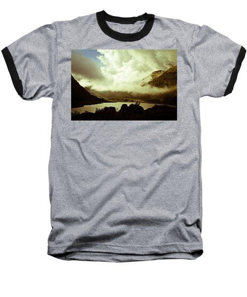 Gathering Clouds  Baseball T-Shirt