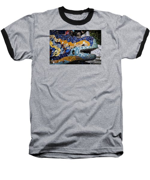 Gaudi Dragon Baseball T-Shirt