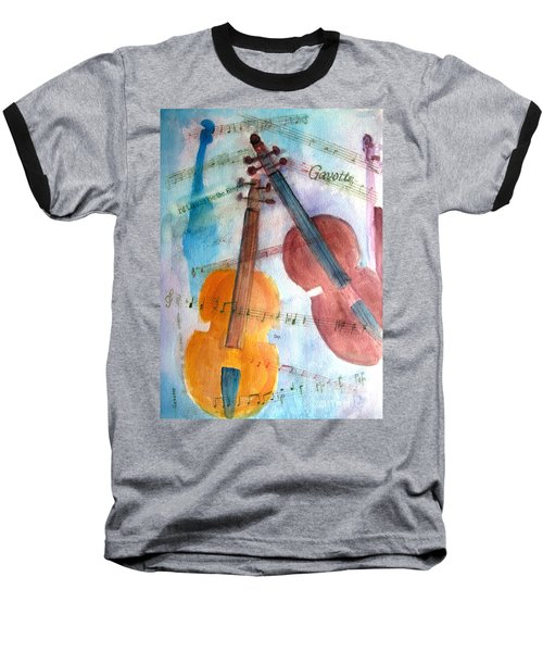 Gavotte Baseball T-Shirt by Sandy McIntire
