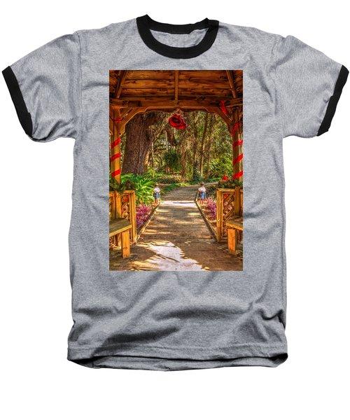 Gazebo Bells Baseball T-Shirt