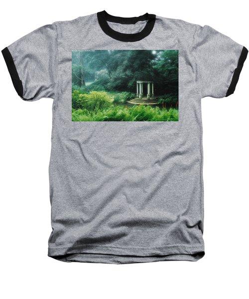 Gazebo Longwood Gardens Baseball T-Shirt