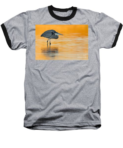 Baseball T-Shirt featuring the photograph Gbh In Orange Water by Bryan Keil