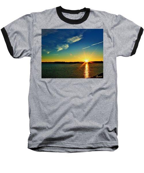 Gc Lake Sunrise Baseball T-Shirt