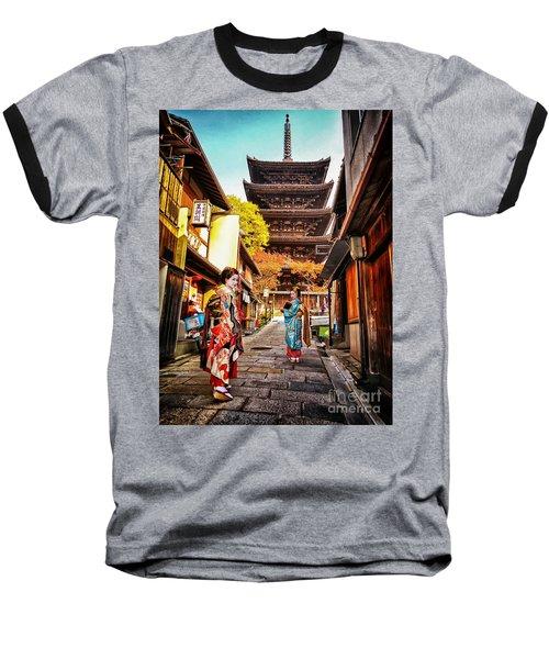 Geisha Temple Baseball T-Shirt