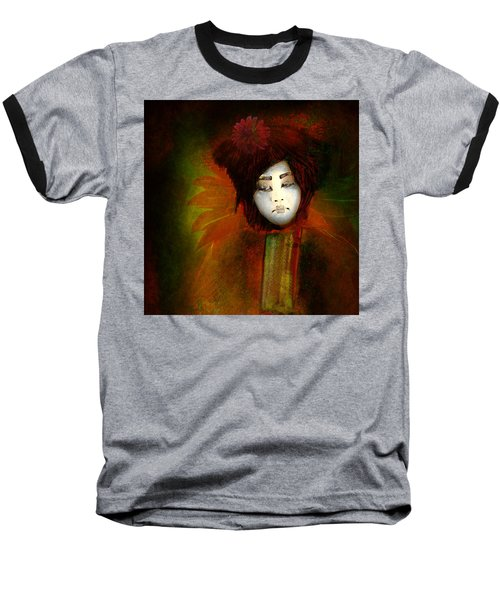Geisha5 - Geisha Series Baseball T-Shirt