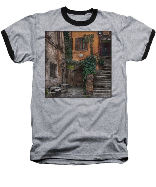 Gelateria Del Teatro Baseball T-Shirt by Hanny Heim
