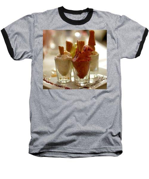 Gelato At Manducati's Rustica Baseball T-Shirt