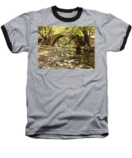 Gelefos Old Venetian Bridge Baseball T-Shirt