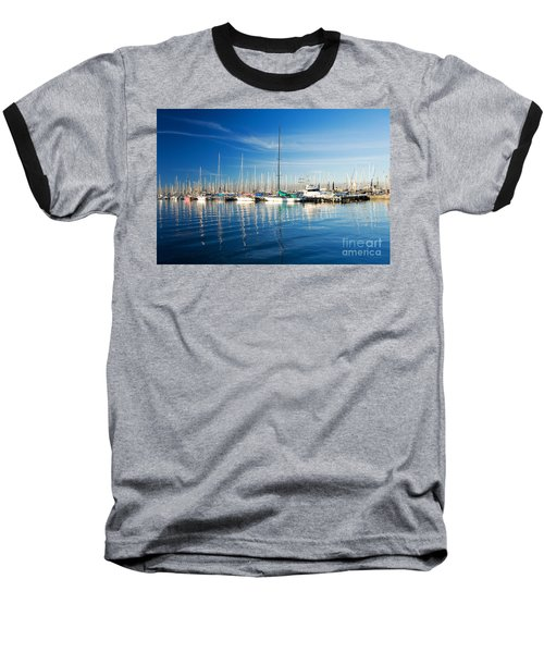 Baseball T-Shirt featuring the photograph Gem Pier Of Williamstown by Yew Kwang