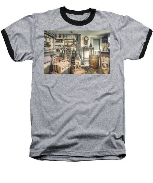 General Store - 19th Century Seaport Village Baseball T-Shirt
