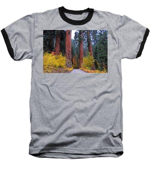 General's Highway Baseball T-Shirt by Lynn Bauer