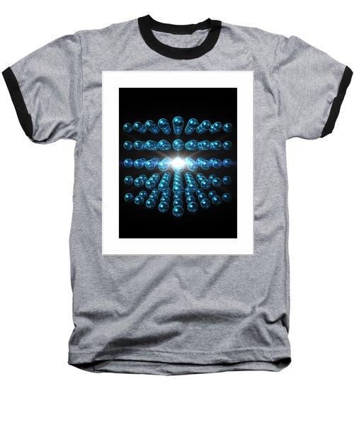Baseball T-Shirt featuring the digital art Genesis... by Tim Fillingim