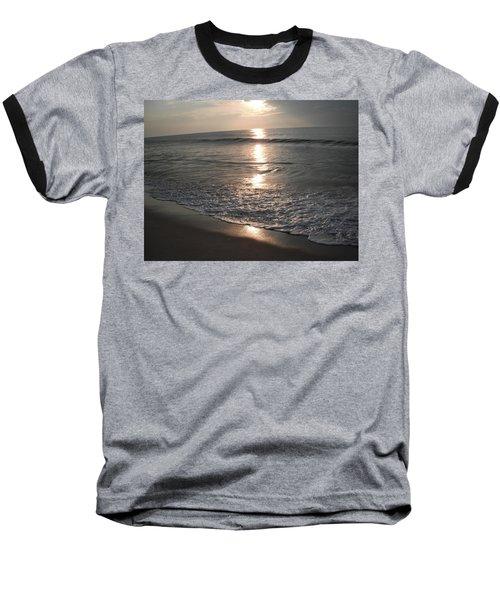 Ocean - Gentle Morning Waves Baseball T-Shirt by Susan Carella