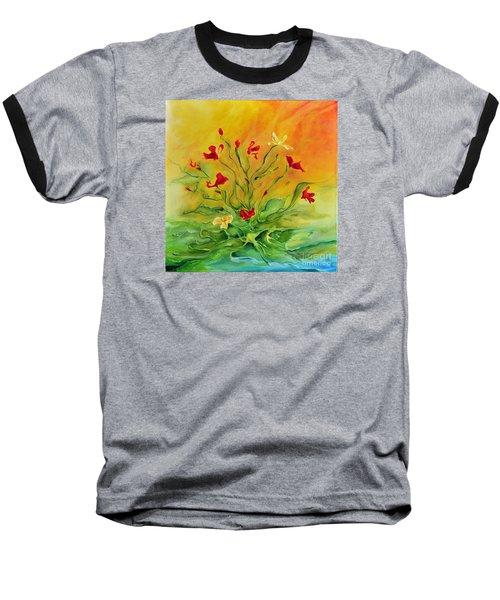 Gentle Baseball T-Shirt by Teresa Wegrzyn
