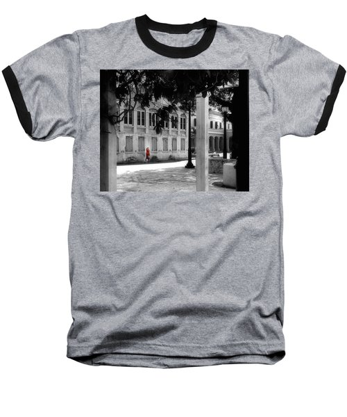 Gentle Warrior On Strand Street Baseball T-Shirt