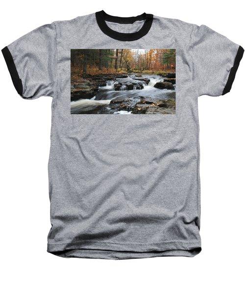 Gently Falling Downstream  Baseball T-Shirt