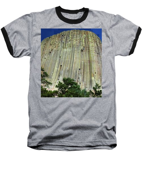 Geology Triptych - Two Baseball T-Shirt