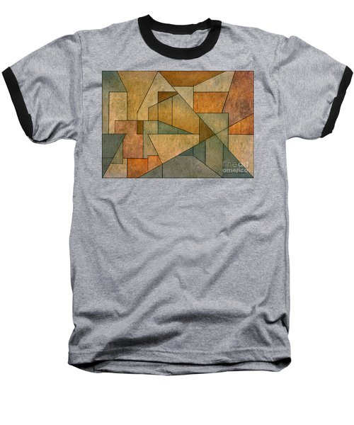 Geometric Abstraction Iv Baseball T-Shirt